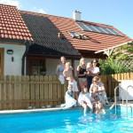 Schwimmbadheizung